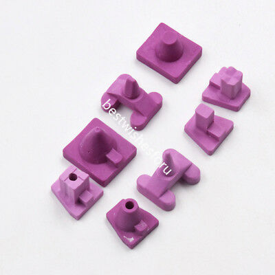 5 Pc Dental Crown Holding Furnace Porcelain Oven Tray Ceramic Firing Pegs 8 Type
