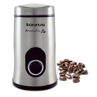 Molinillo de cafe Taurus 150W electrico grinder acero inoxidable