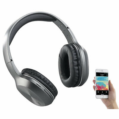 auvisio Over-Ear-Headset, Bluetooth, MP3, FM & Auto Connect, microSD bis 64 GB Over-ear-headset