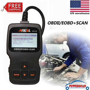 EOBD OBD2 OBDII Car Scanner Auto Diagnostic Live Data Code Reader Check Engine