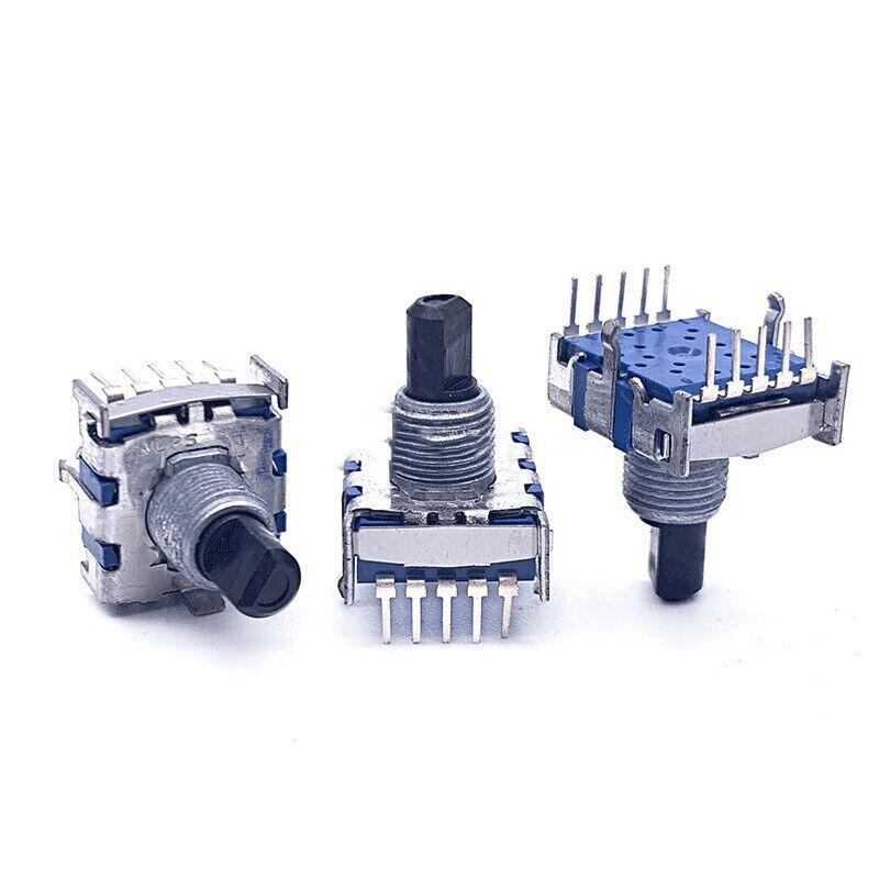 1pcs SRBV181004 Potentiometer Band switch 8-speed signal switch shaft 15mm