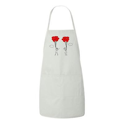 Beegeetees Up Up And Away In Love Valentines Day Gift Apron