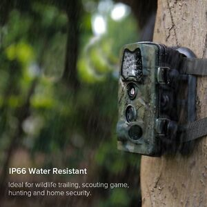 Motion Activated 12MP Trail Camera with Night Vision NEW