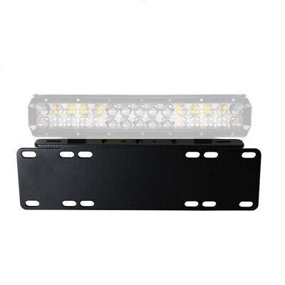 Car Van SUV JEEP Pickup Front License Plate LED Lights Mounting Bracket Support