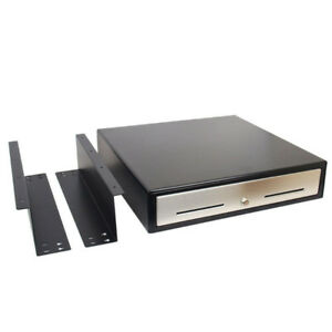 """Brand New 18"""" Automatic POS Cash Drawer & Under Counter Brackets"""