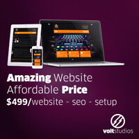 WEB DESIGN, SEO and SETUP ONLY $499