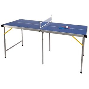 Lion 5' Folding Table Tennis Game, New