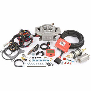 MSD Atomic EFI Fuel Injection System Carburateur Conversion