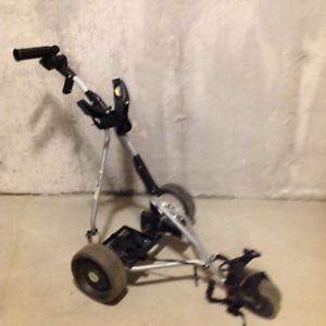 Powacaddy Golf Trolley with Travel Cover