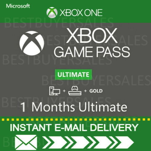 Xbox Live 1 Month Gold & Game Pass Ultimate (2 x 14 Day) -INSTANT EMAIL DELIVERY