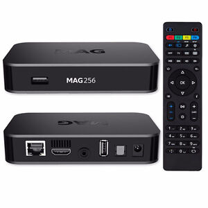 SPECIAL- NEW Mag256 IPTV box, Infomir MAG 256