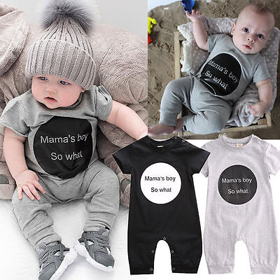 Newborn Infant Baby Girl Boy Jumpsuit Bodysuit Romper Cute Outfits Playsuit ()