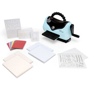 Sizzix Texture Boutique Embossing Machine Beginner's Kit 656280