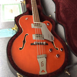 GRETSCH BROADKASTER BASS  G6119b