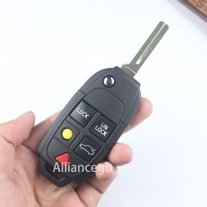 VOLVO-Smart-Keyless-Remote-Entry-Flip-Key-Shell-Fob-Replacement-For-VOLVO-XC70