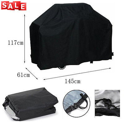Large BBQ Cover Heavy Duty Waterproof Rain Snow Barbeque Grill Protector