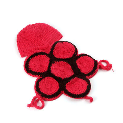 Hand Woven Baby Photo Clothing Costume Outfits Infant Crochet Turtle Shape New ()