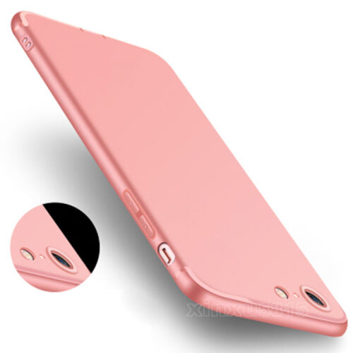 Ultra Thin Dirtproof Silicone Rubber Full Cover Case Skin for iPhone 6 6s 7 Plus