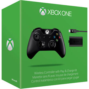 Official Microsoft Xbox ONE Manette sans-fil Play and Charge