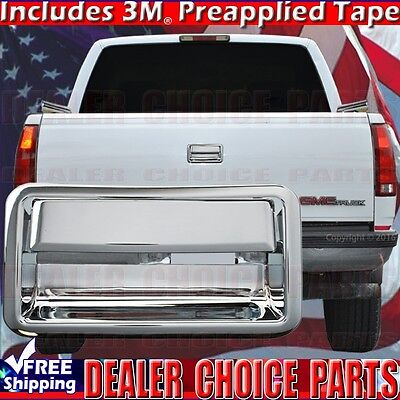 - 1994-2000 CHEVY/GMC C/K 2500, 3500 Triple Chrome Tailgate Handle COVER Overlay