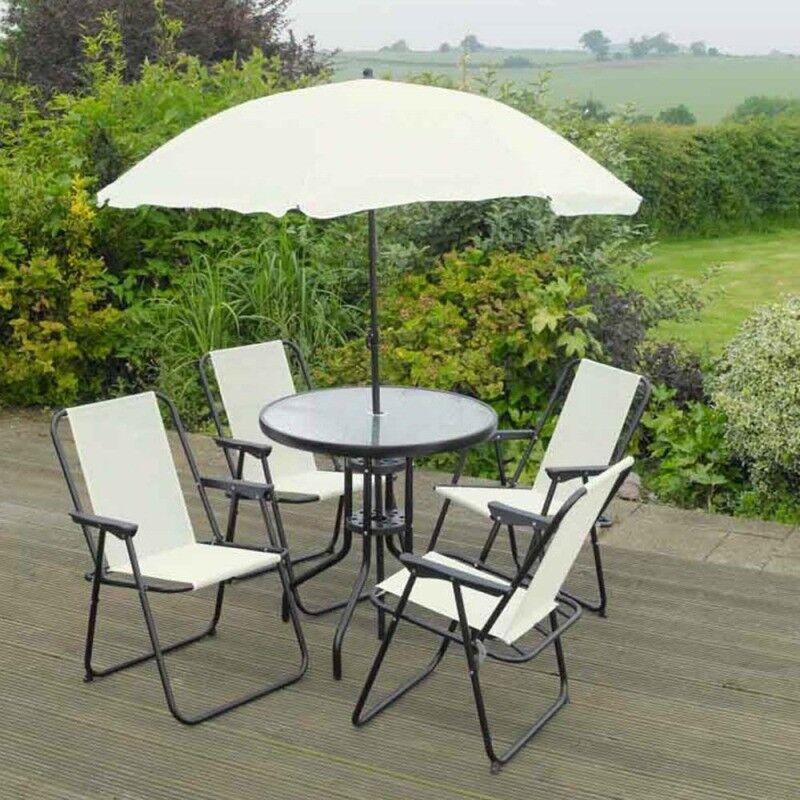 Brand New Cream Garden Patio Furniture Set - 6 piece   in ...