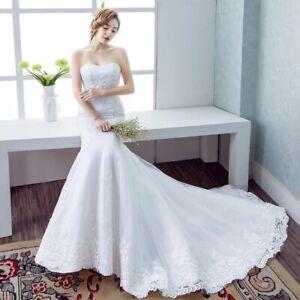 Brand new wedding dress simple and elegant