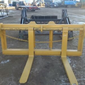 Loader Forks and Grapple