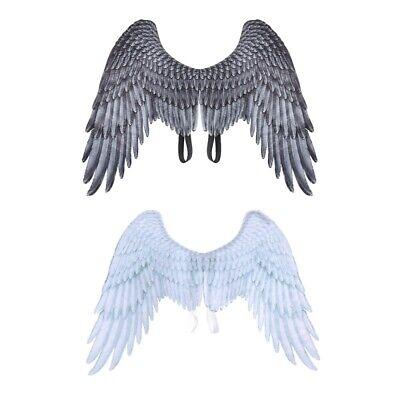 Angel Wings For Men (Men Women Large Fairy Angel Wings Wedding Carnival Party Cosplay Costume)