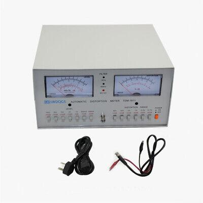 Tdm-1911 Automatic Distortion Meter 0.01-30 Audio Signal Distortion Analyzer