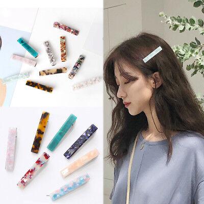 Women Girls Leopard Barrettes DIY crocodile clip Hair clip Comb Hair Accessories