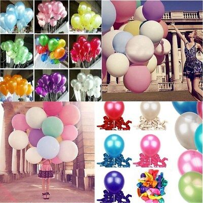 1/5/100 pcs Latex Helium Ballons Birthday Wedding Party Celebration - Helium Ballons