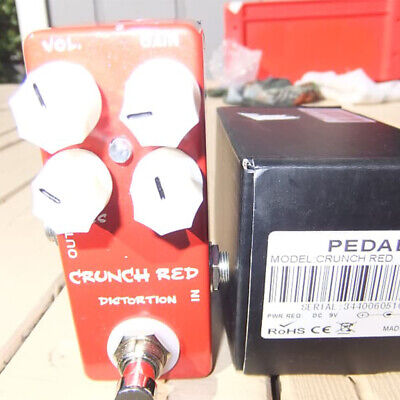 MOSKY CRUNCH Distortion Guitar Effect Pedal True Bypass High-quality Distortion