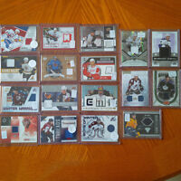 Assorted NHL Jersey Hockey Cards for Sale!