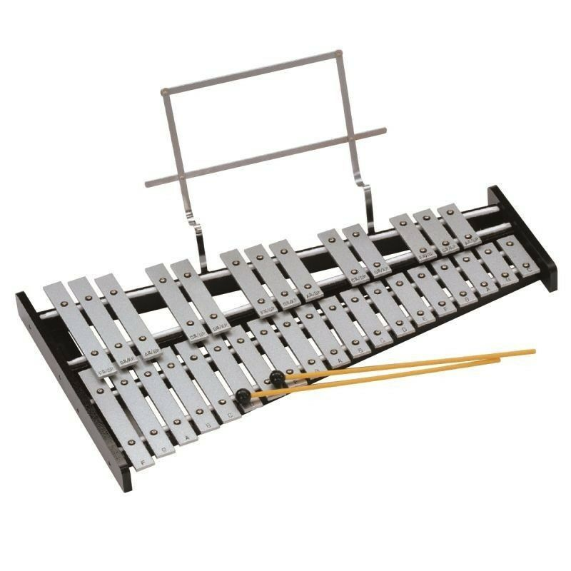 PEACE GKS-2 Glockenspiel Metallophone Chromatic Professional From 32 Note