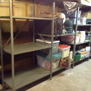 LARGE SHELVING UNIT - Great for Storage