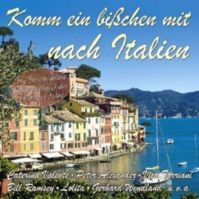 KOMM EIN BISSCHEN MIT NACH ITALIEN 2 CD NEU
