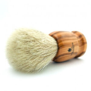 VIE-LONG HORSE HAIR WOOD HANDLE SHAVING BRUSH MADE IN SPAIN