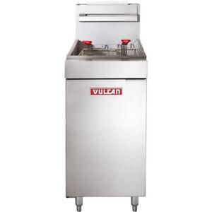 Nella - Vulcan 35-40 lb Gas Deep Fryer - Brand New