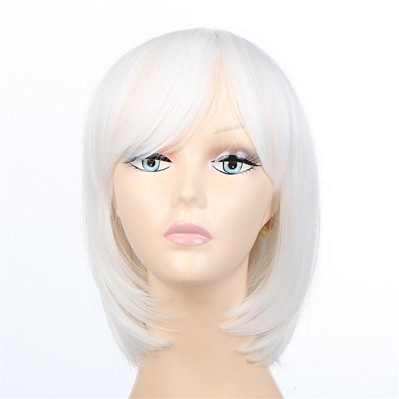 Short White Hair Wig   eBay