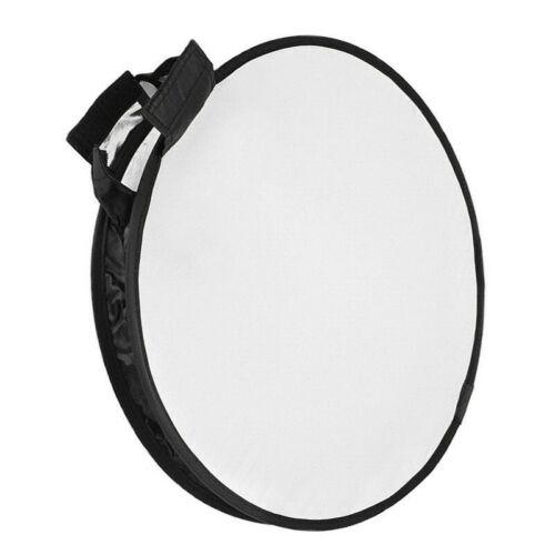 """12"""" Round Mini Flash Softbox Diffuser Reflector for Nikon Canon Speedlight"""