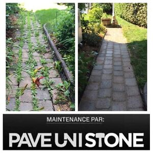 UNISTONE CLEANING - PAVEUNISTONE.COM - PAVER CLEANING West Island Greater Montréal image 3