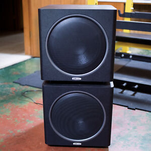 """2x Polk Audio 12"""" Subwoofers (PSW125) $400 for the pair"""