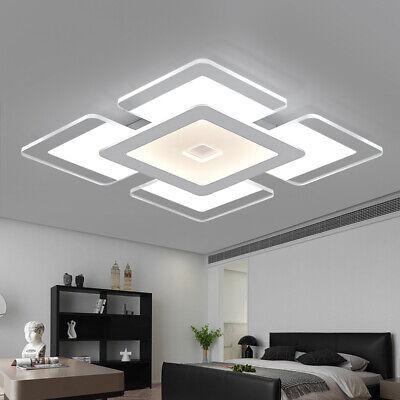LED Ultra Thin Ceiling Light Flush Mount Kitchen Square Acrylic Home Fixture Acrylic Flush Mount