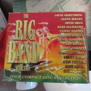 BIG BAND 4 COMPACT DISC COLLECTION in NEW CONDITION