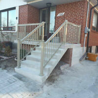 Aluminum Railings, Glass Railings, & Columns By Caliber Railings