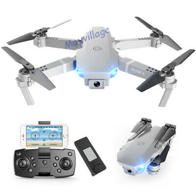 FPV Wifi RC Drone Wide Angle HD Camera Foldable Quadcopter Selfie 4K 1080P Toy