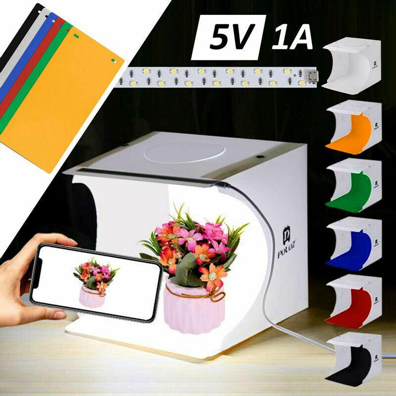 Light Room Photo Studio Photography Lighting Tent Kit Backdrop Cube Mini Box BL
