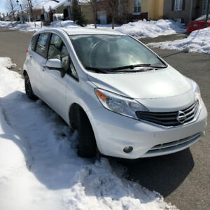 2014 Nissan Versa SL  FULLY LOADED, Low KM Lease transfer 290$/m