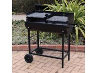 Half Drum Steel BBQ (New + FREE Local Delivery)