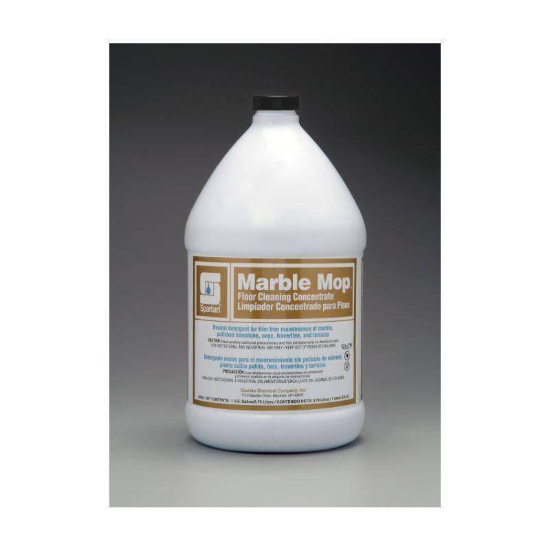 Spartan Marble Mop Floor Cleaner, Gallons, 4/Case